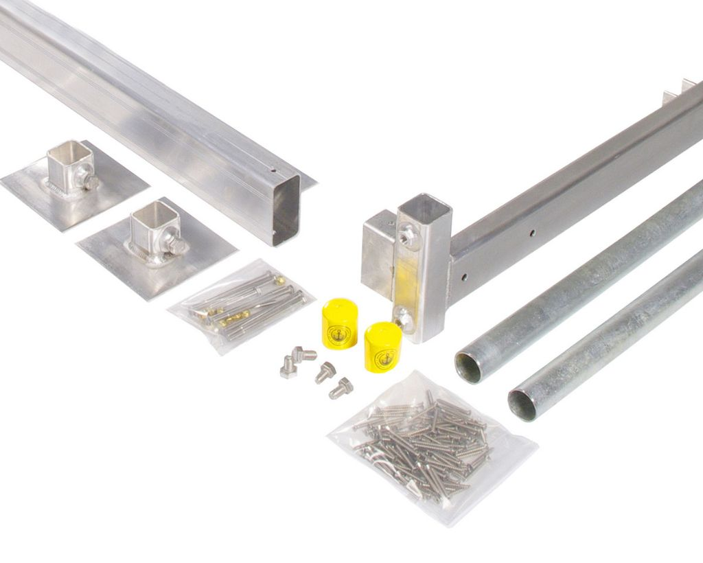Dock kit easily build your own boat dock on posts 1 solutioingenieria Image collections