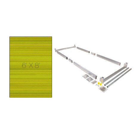 Dock kit easily build your own boat dock on posts hybrid dock kit 6 x 8 solutioingenieria Image collections